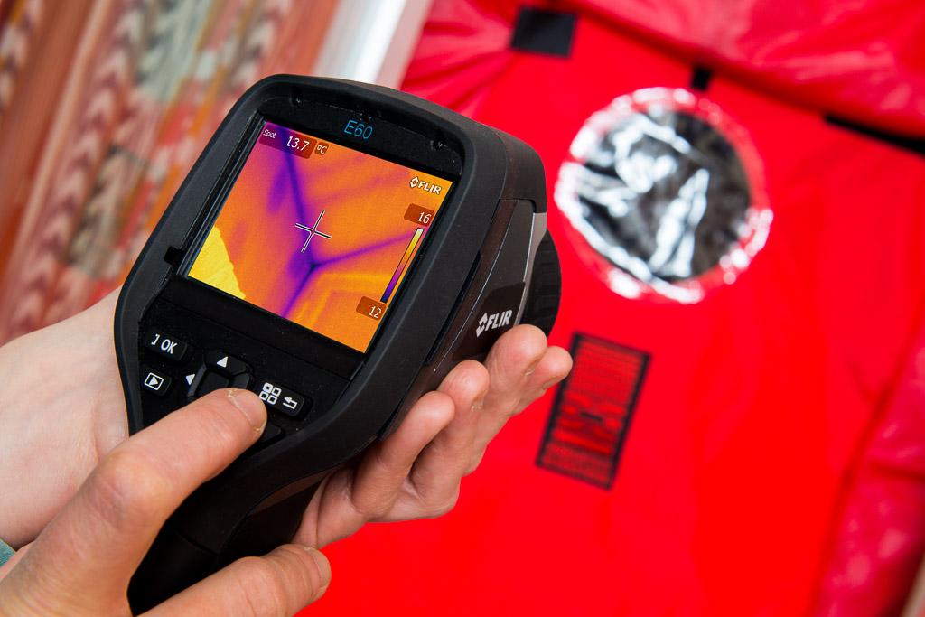 Green Footsteps Airtightness and thermal imaging