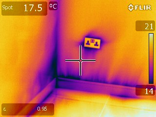 Air tightness test self build