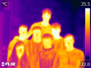 Green Footsteps Ltd Kendal College Thermal image