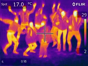 Green Footsteps Ltd Thermal image of CAT students 2018